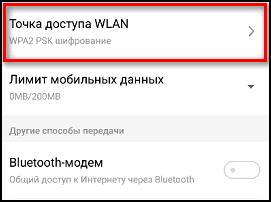 Точка доступа WLAN